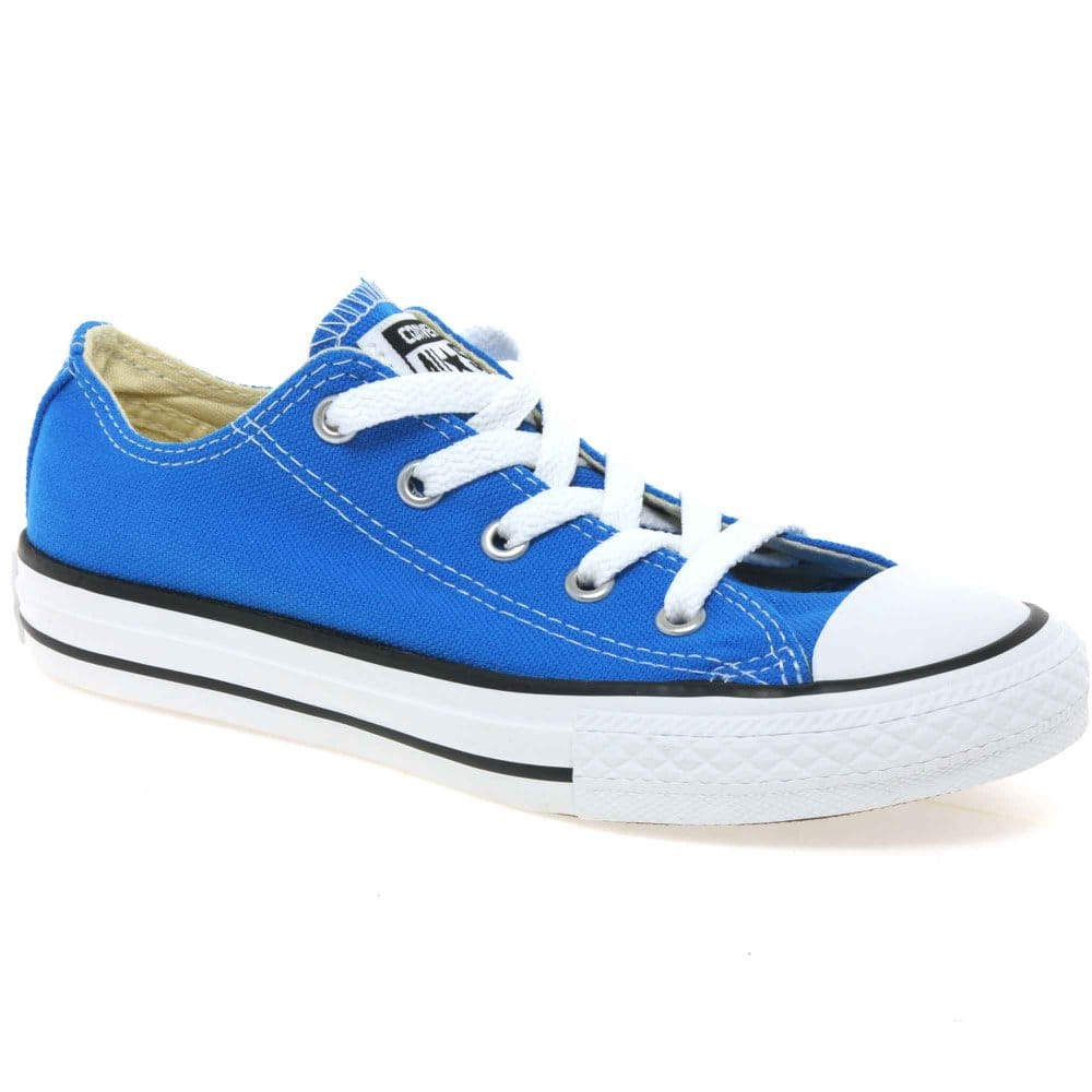 converse all oxford boys blue canvas shoes charles
