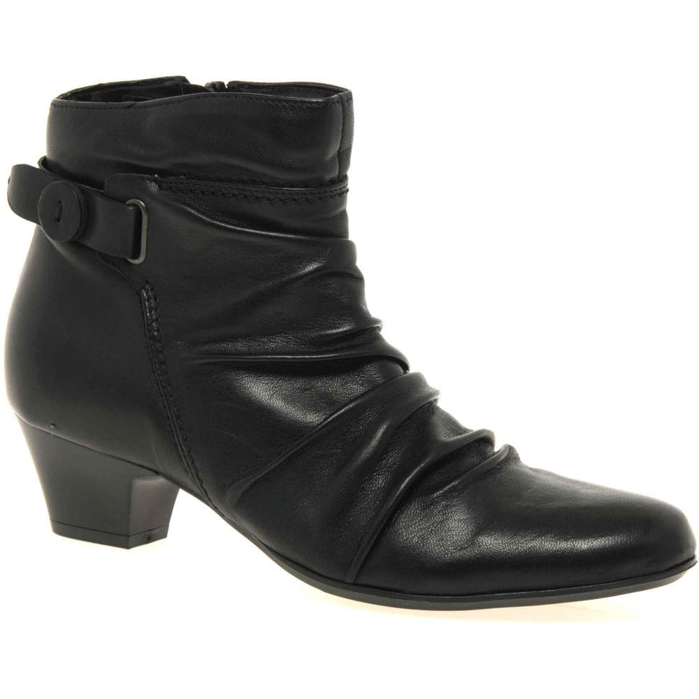 cara scrunch boots ankle charles clinkard
