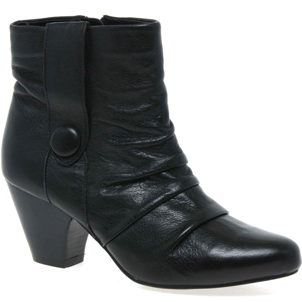 lotus graphite womens ankle boots charles clinkard