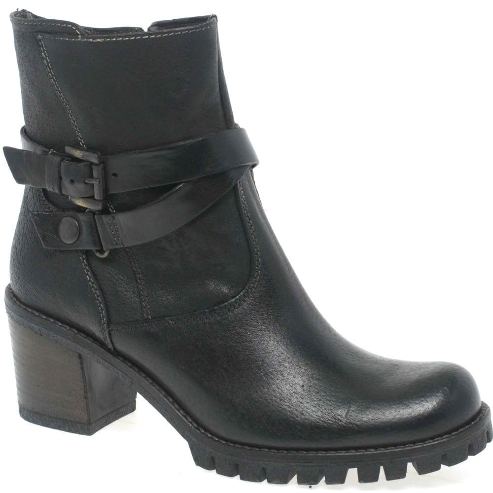 manas everest ankle boots brown leather charles clinkard