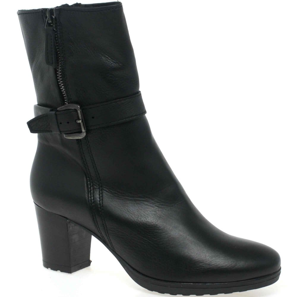manas coast ankle boots black leather charles clinkard