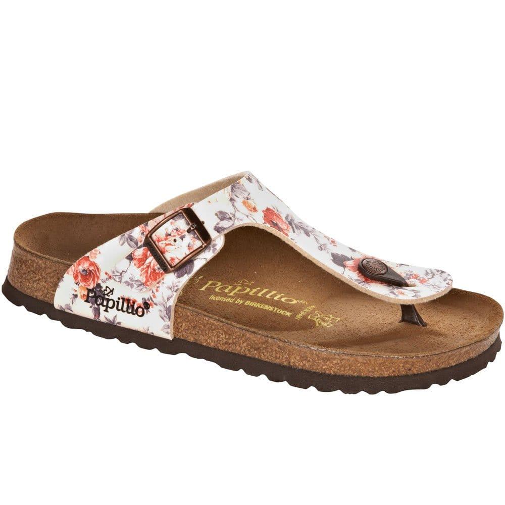 birkenstock gizeh sandals ladies rose charles clinkard. Black Bedroom Furniture Sets. Home Design Ideas