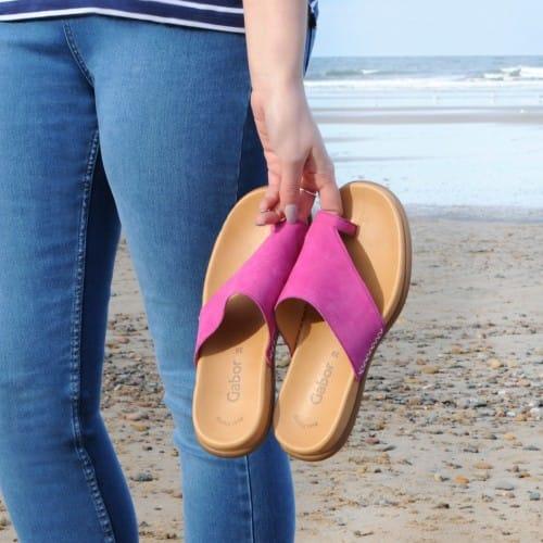 Gabor-Lanzarote-Pink-Sandals