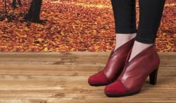 Hispanitas-Red-Ankle-Boots