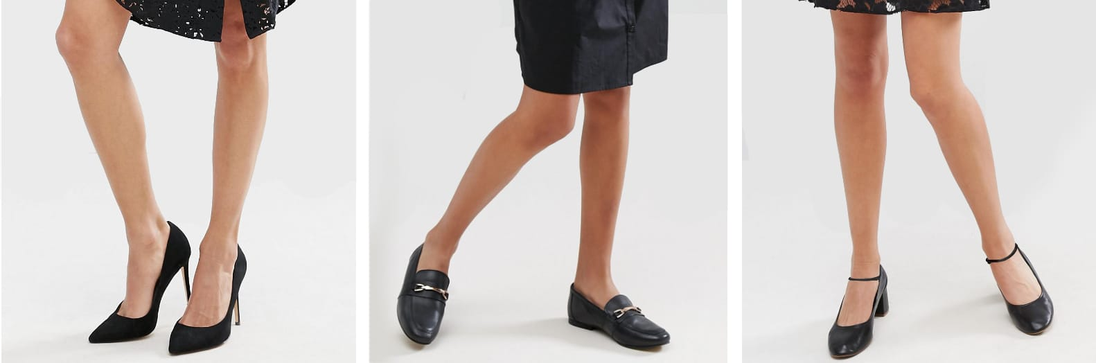 What shoes should I wear with a black dress?  Home › Blog