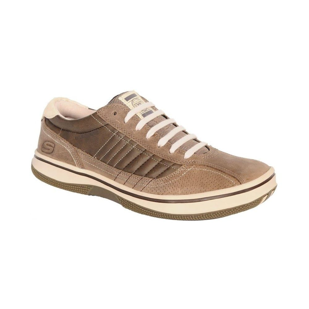 Skechers Piers Mens Shoes: Leather