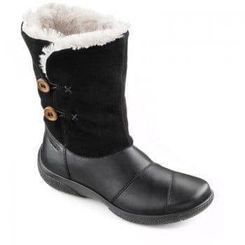 Hotter Heaven Ladies Calf Length Fur Lined Boots Women