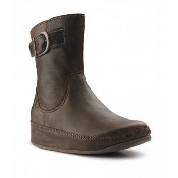 FitFlop Hooper Ankle Boots: Leather