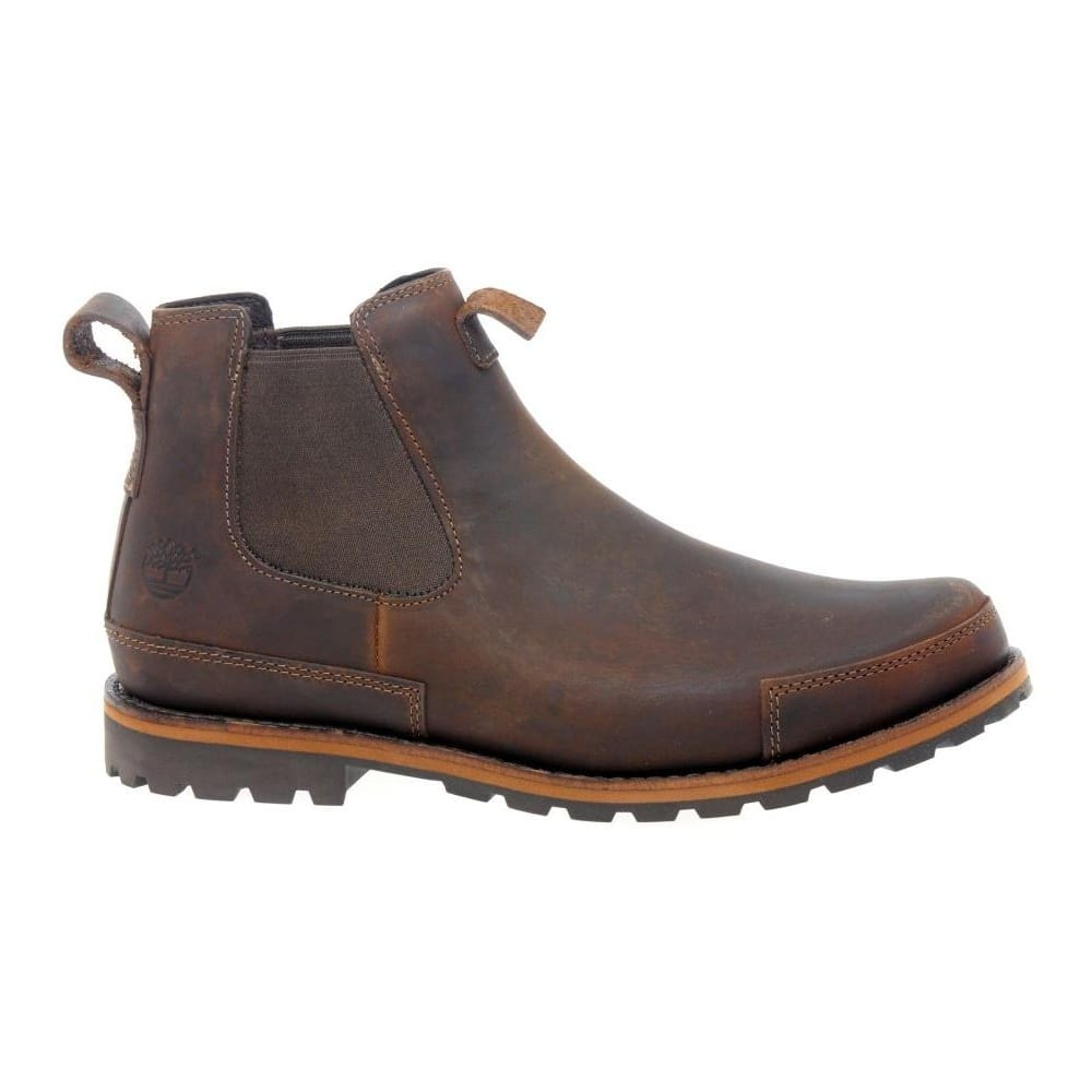 Timberland Mens' Brown Oiled Leather