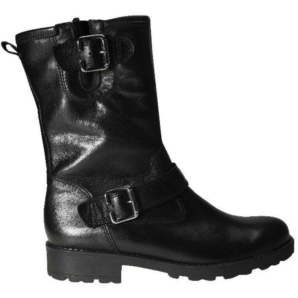 Gabor Olive Biker Boots | Ladies Black