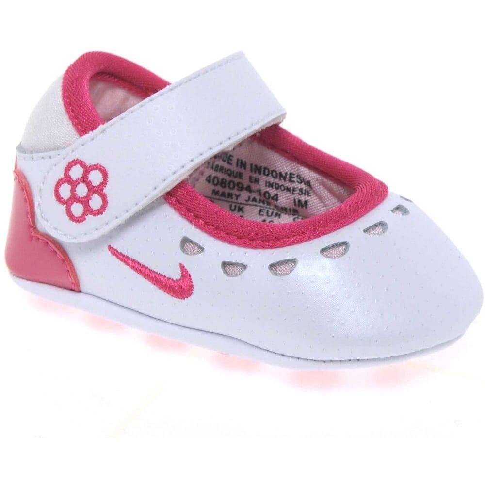 Nike Mary Jane Crib Girls Velcro
