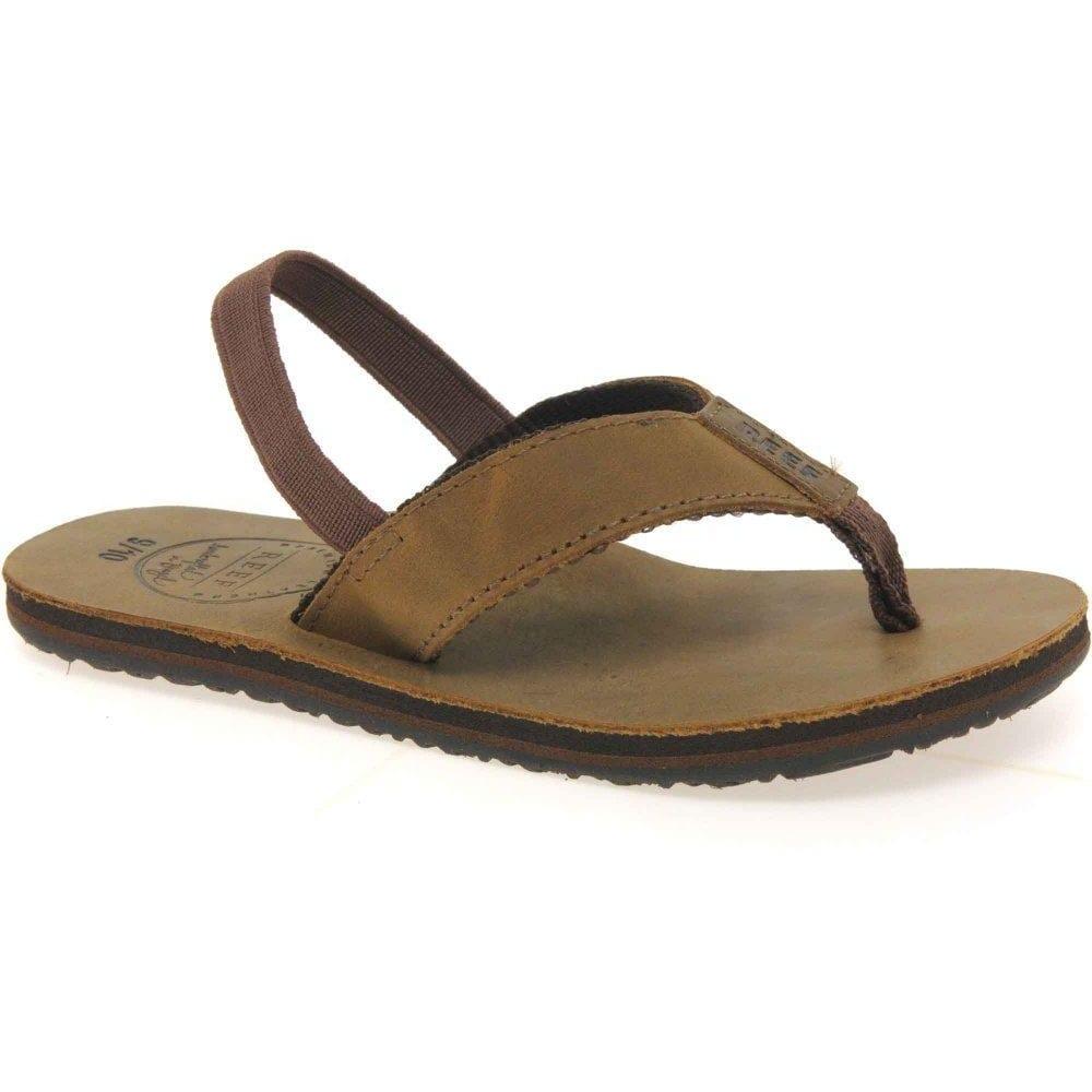 Reef Grom Boys Leather Sandals - Boys