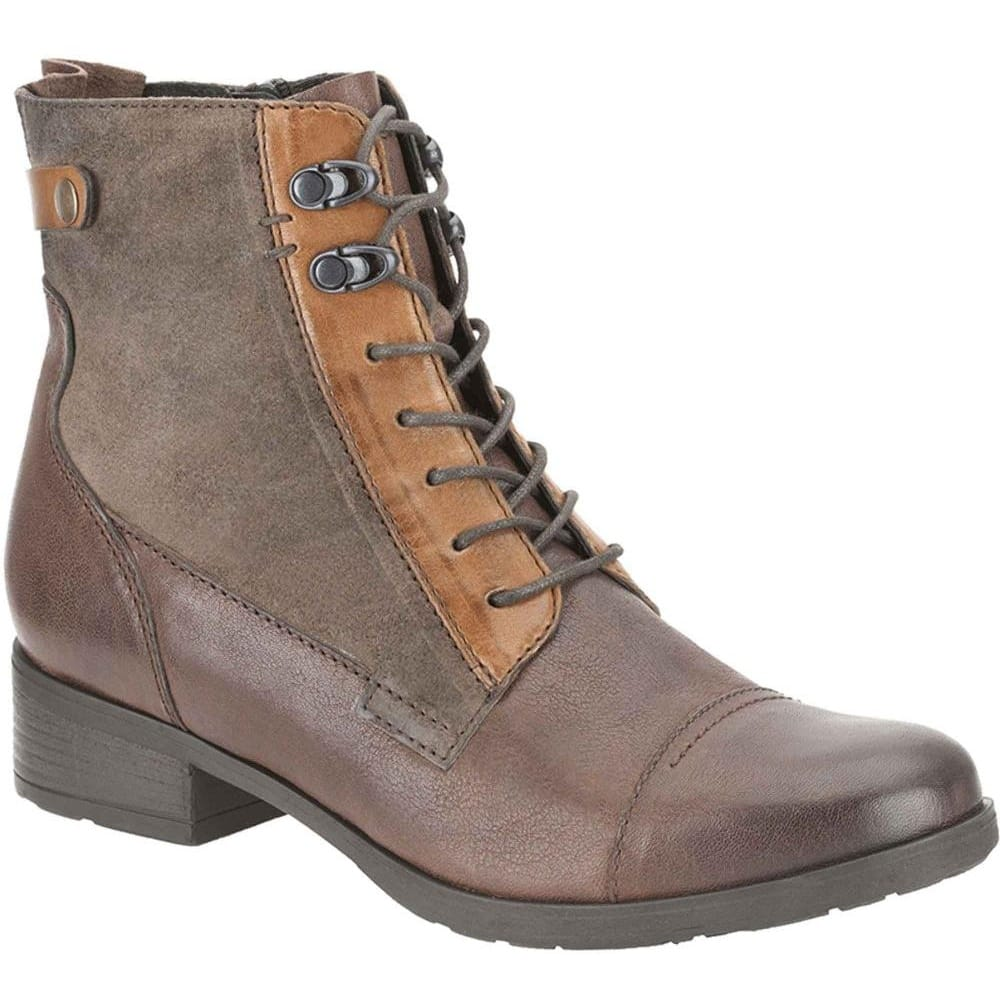 Clarks Morgan Carla Boots | Tan Leather