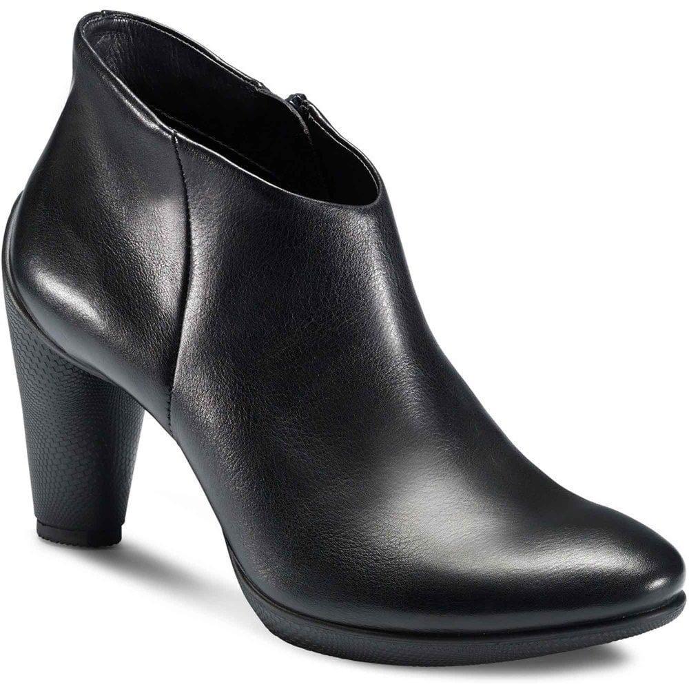 Ecco Sculptured Ankle Boots   Ladies