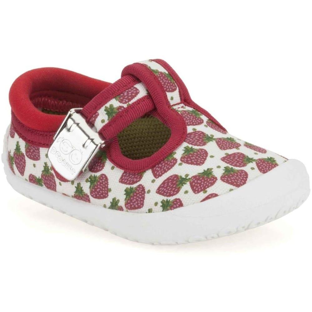 Clarks Spotty Heart Shoes | Girls T-Bar