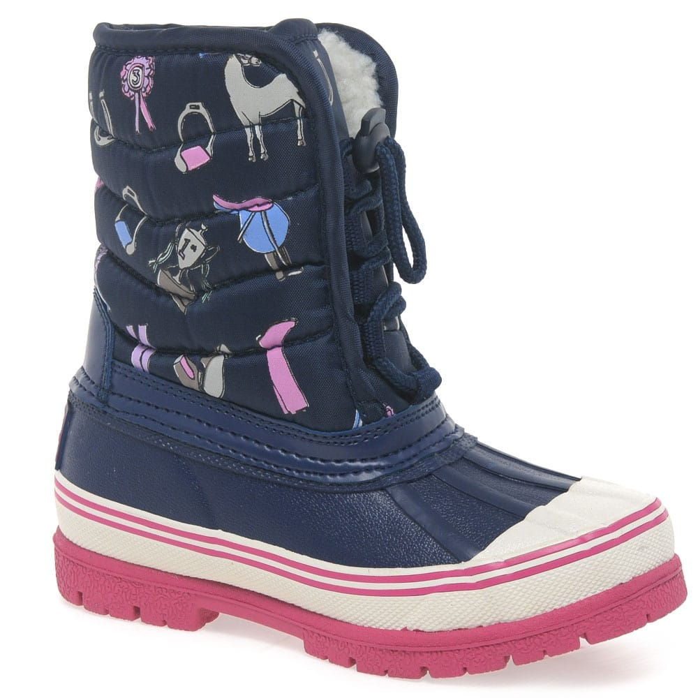 Joules Snow Boots | Junior Girls
