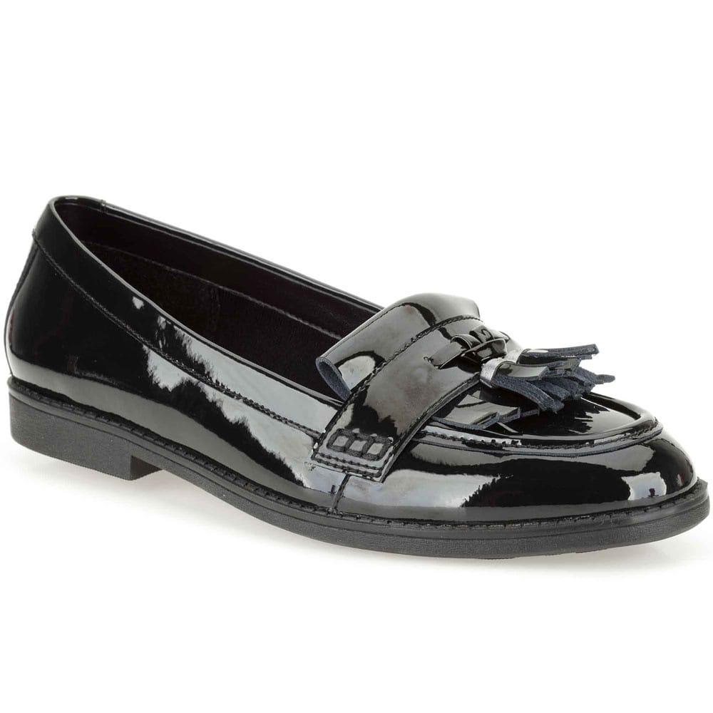 Clarks Della Bea Loafers | Girls Black