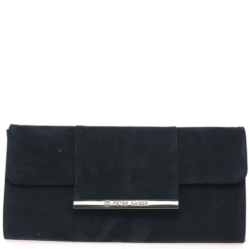 Peter Kaiser Berta Womens Suede Clutch Bag - Handbags from