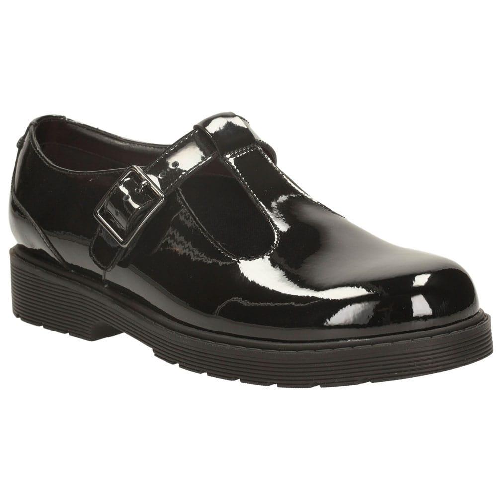 Clarks Purley Go Junior Girls School Shoes Charles Clinkard