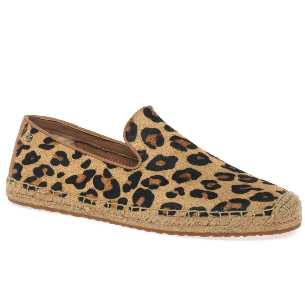 ugg espadrilles leopard