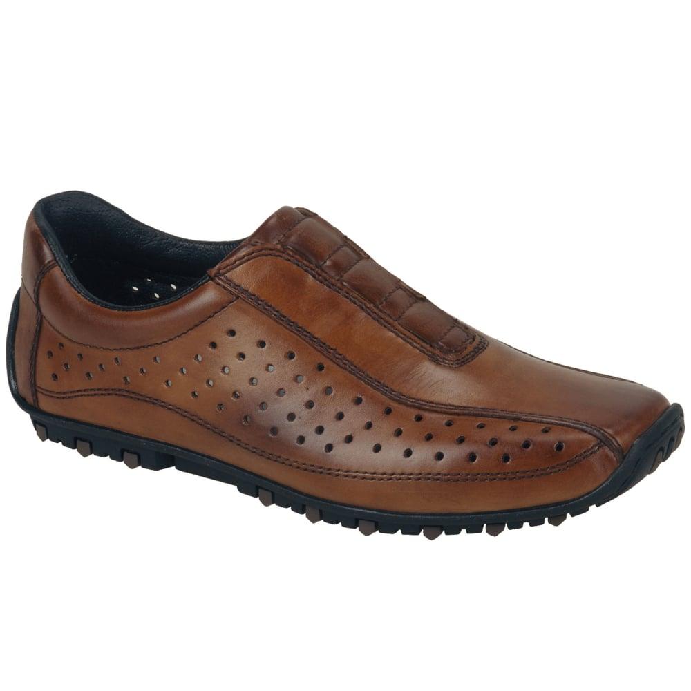 Rieker Rick Men's Tan Leather Casual