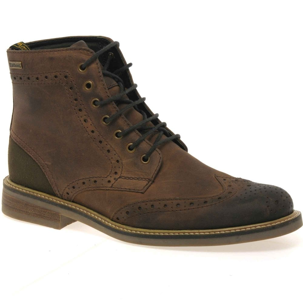 mens lace up brogue boots