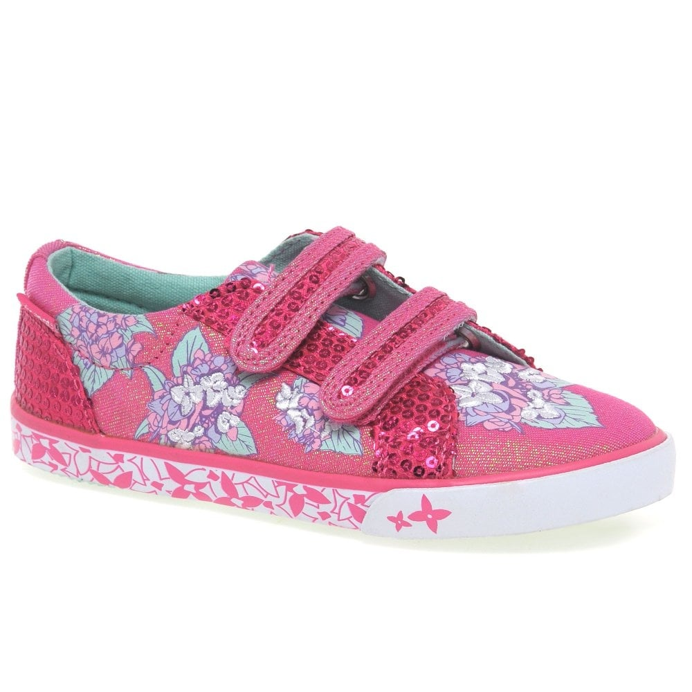 Girls Start Rite Canvas Shoes Endless Summer