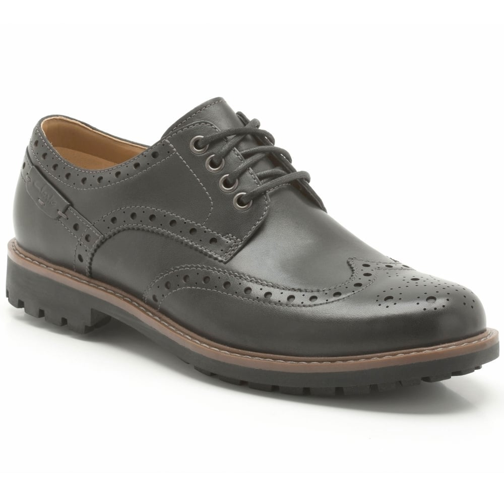 df68adcf56a0d Clarks Montacute Wing Mens Casual Shoes - Men from Charles Clinkard UK