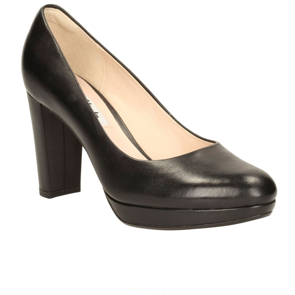KENDRA SIENNA LADIES Clarks Leather