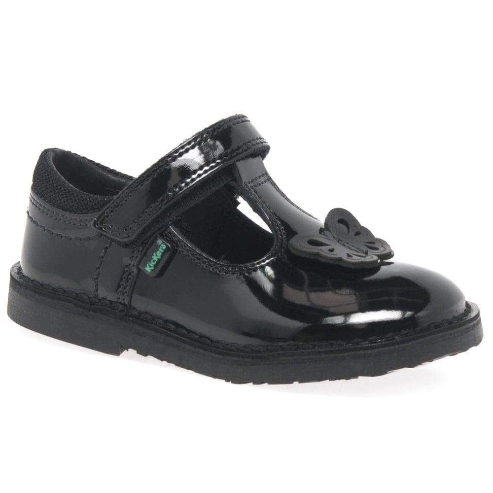 kickers school shoes size 2