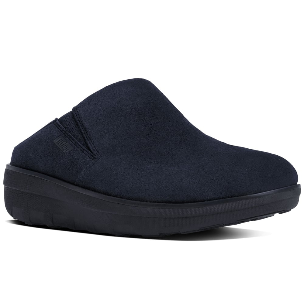 FitFlop Loaff Suede Womens Clogs