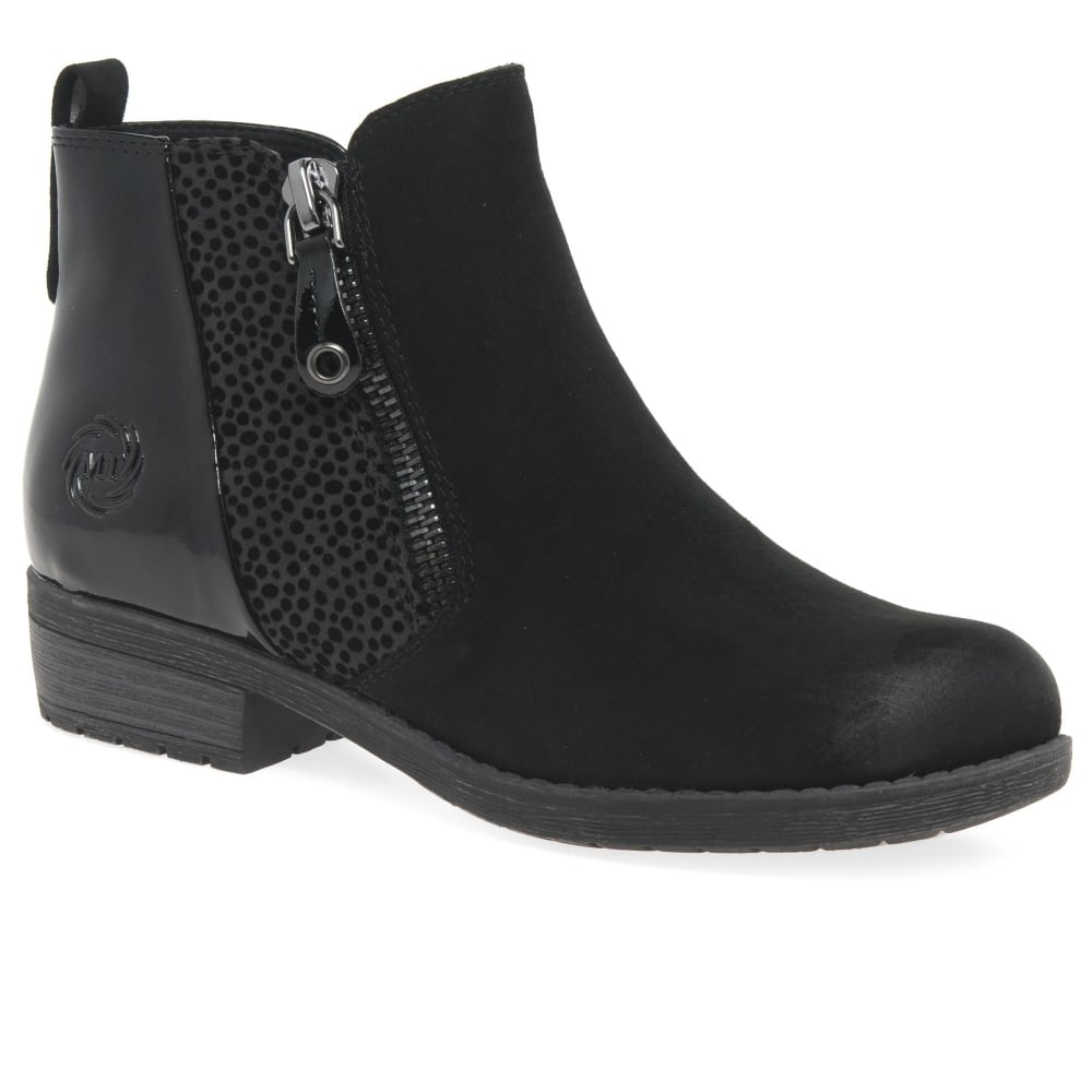 Marco Tozzi Jessica Girls Black Ankle