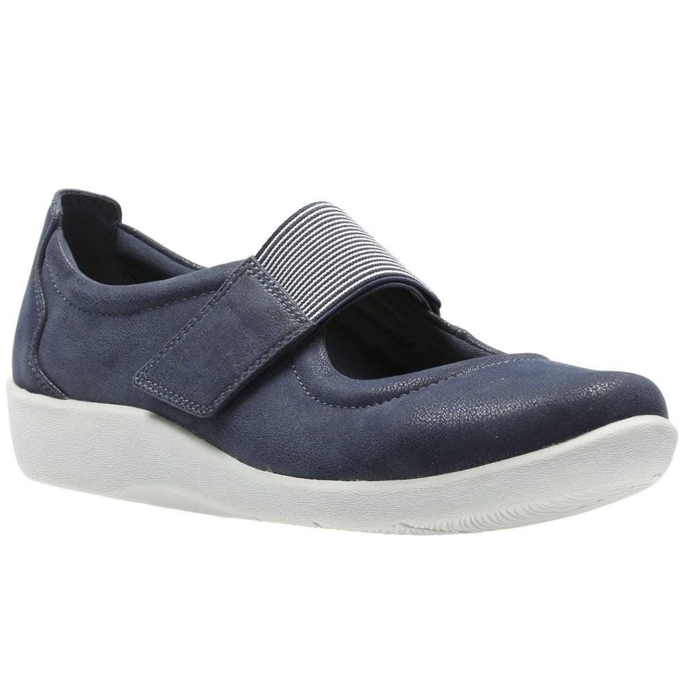 Clarks Sillian Cala Womens Flat Shoes