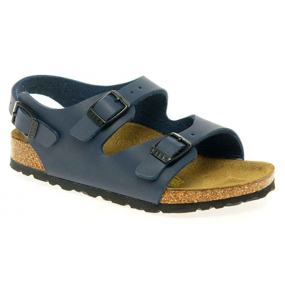 Roma Boys Sandals: Navy: Charles Clinkard