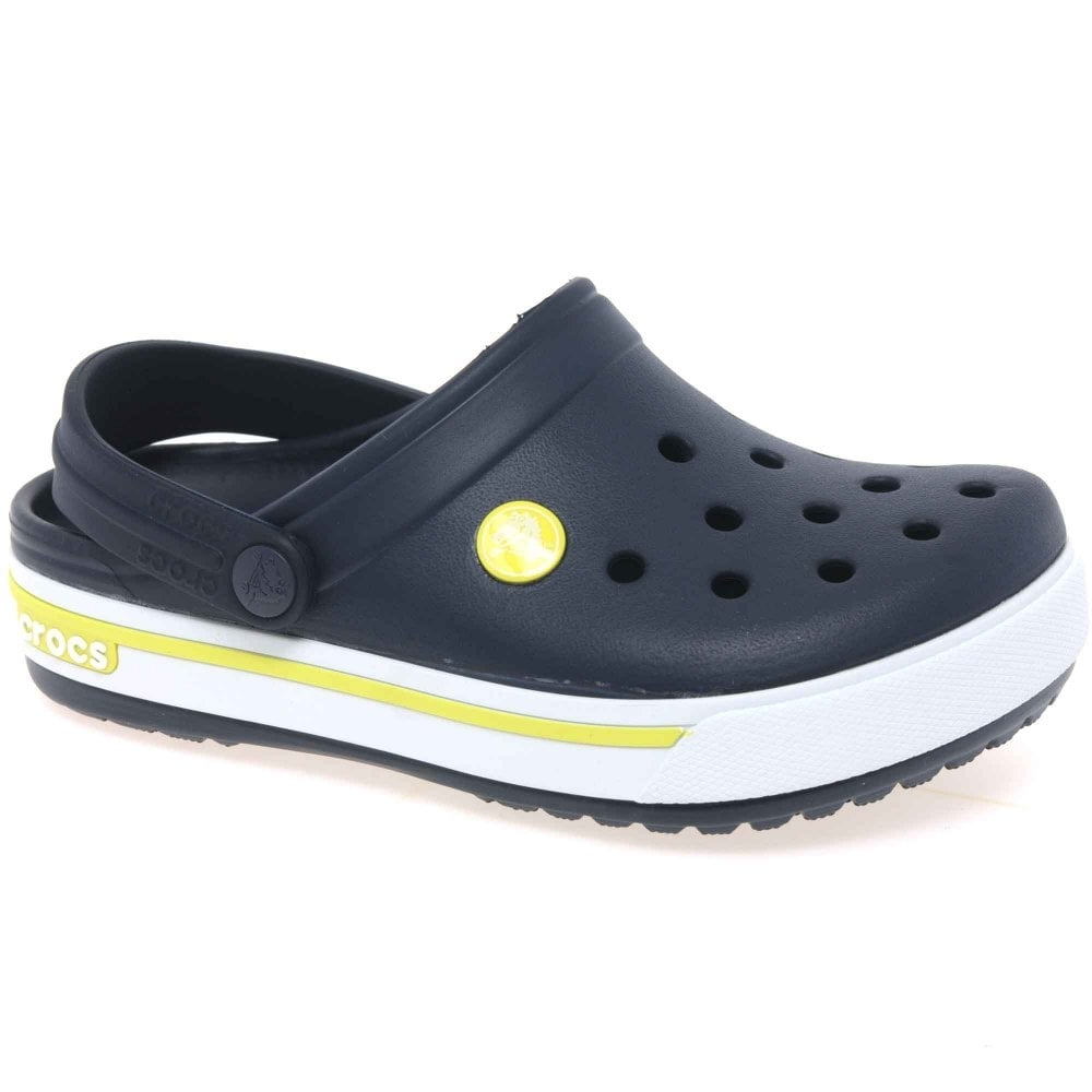 Crocs New Crocband Kids' Charcoal Grey