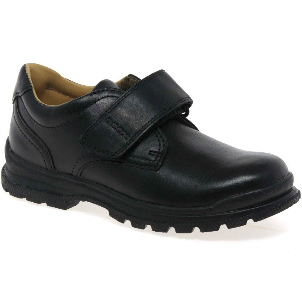 geox boys black shoes