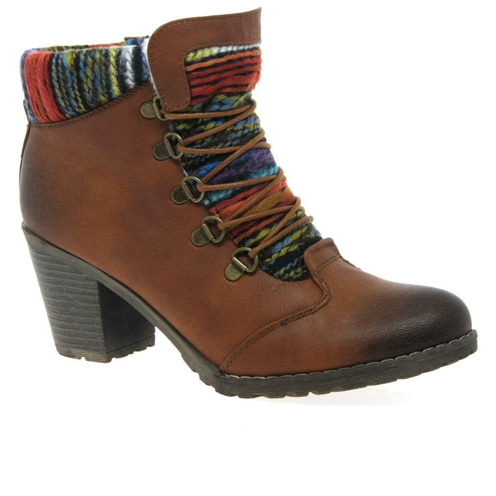 timeless design 100% genuine clearance sale Rieker Caledonia Women's Ankle Boots | Charles Clinkard
