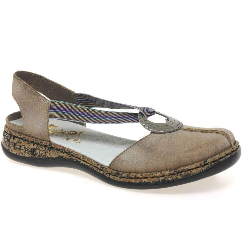 Rieker Funky Womens Casual Sandals Leather Charles Clinkard