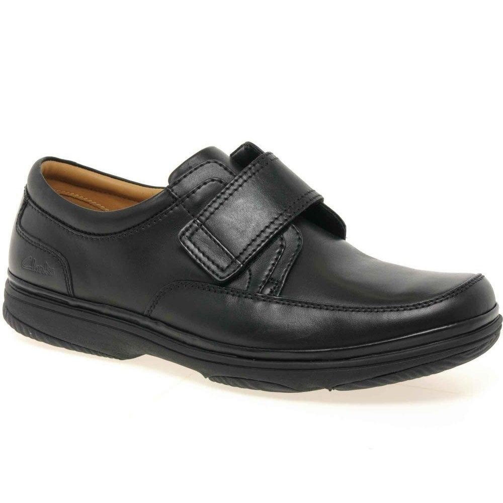 Clarks Swift Turn Casual Shoes: Black