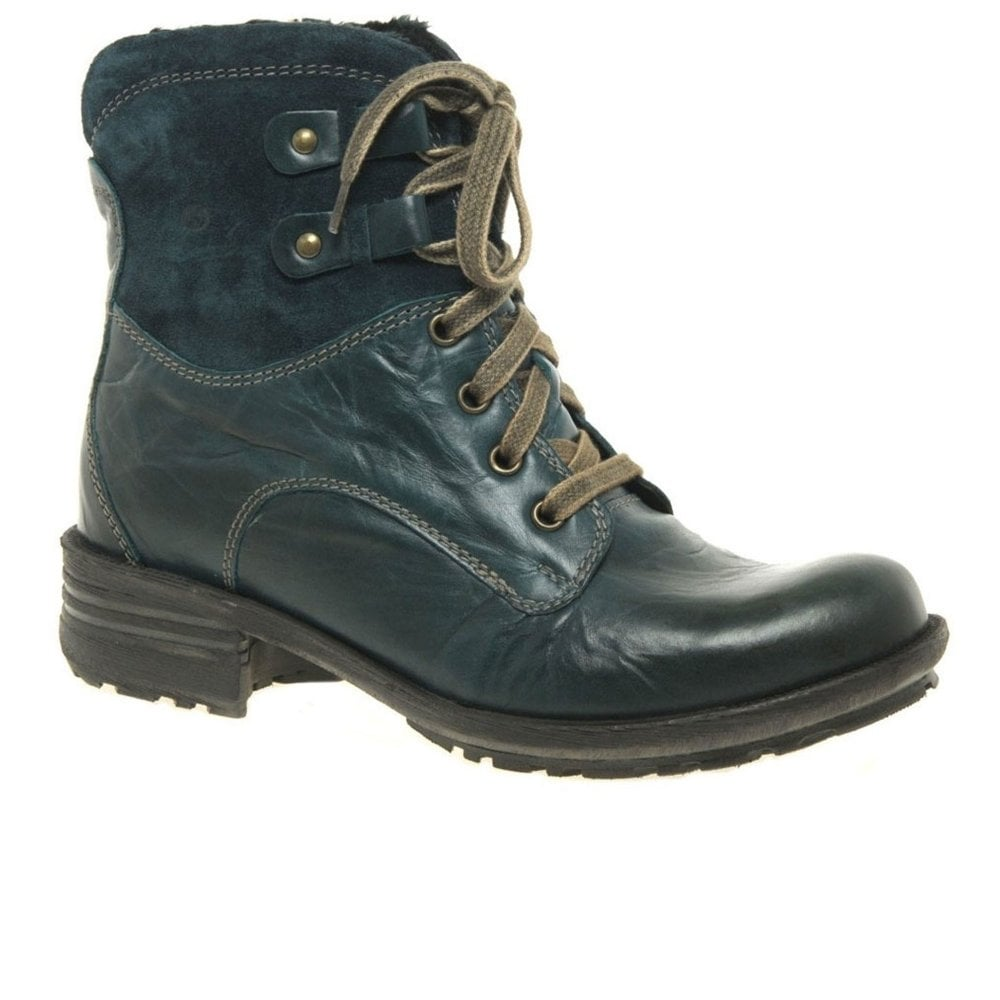 Sandra 14 Womens Lace Up Boots