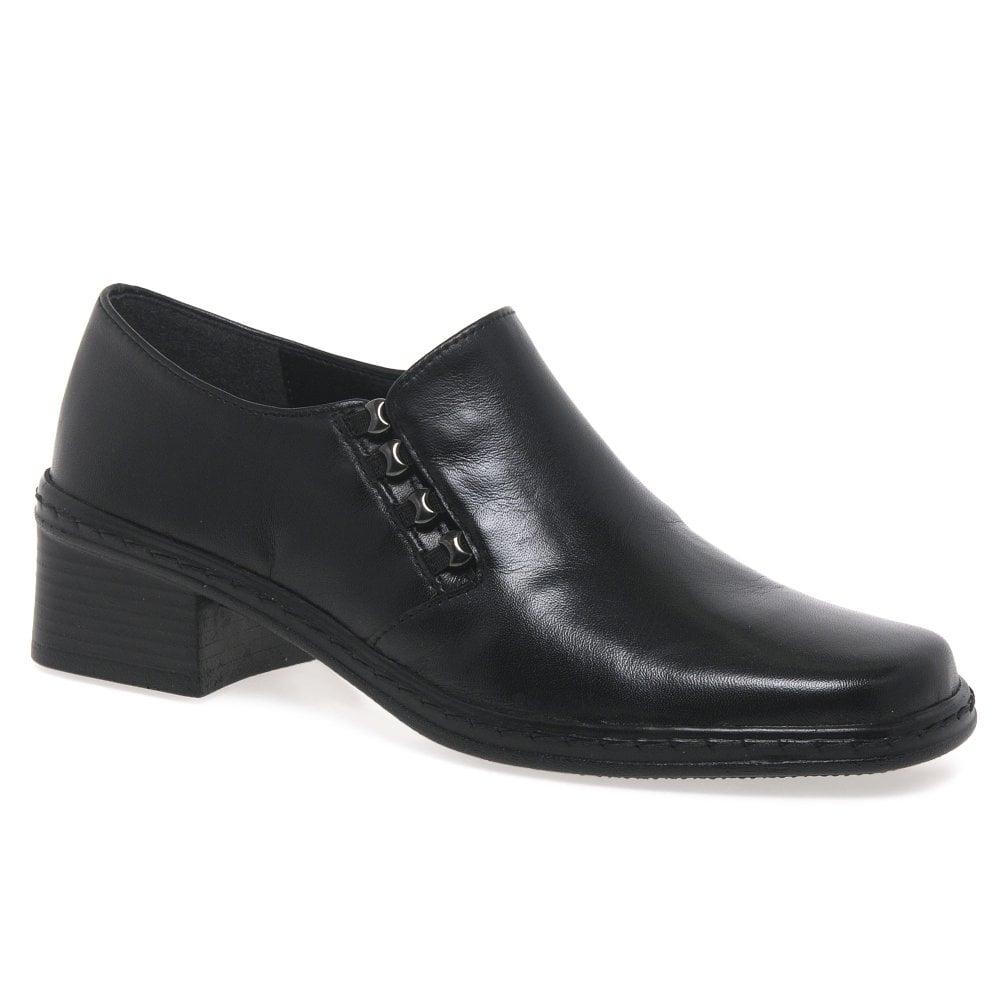 Gabor Hertha Black High Cut Court Shoes
