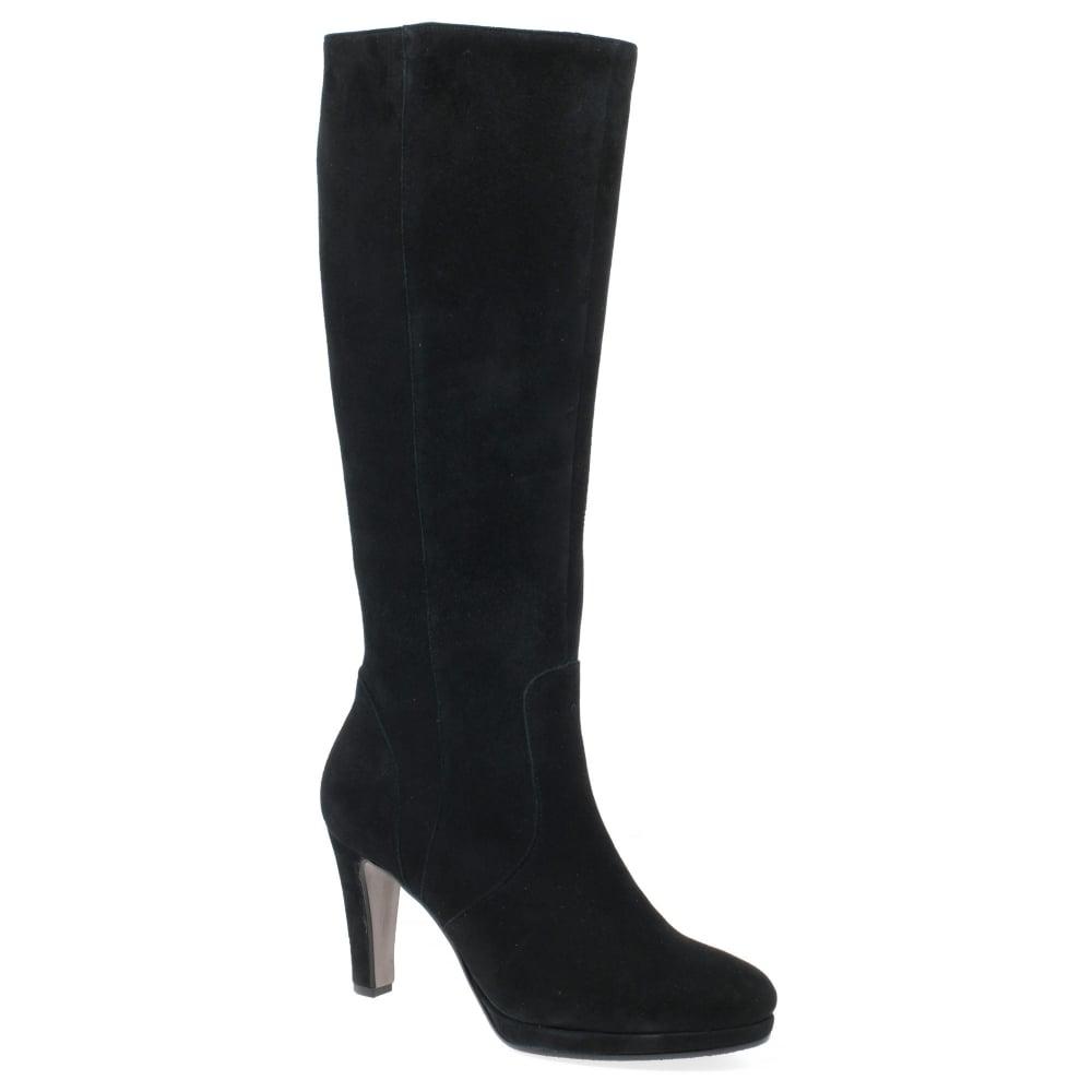Gabor Drama Womens Long Boots - Women