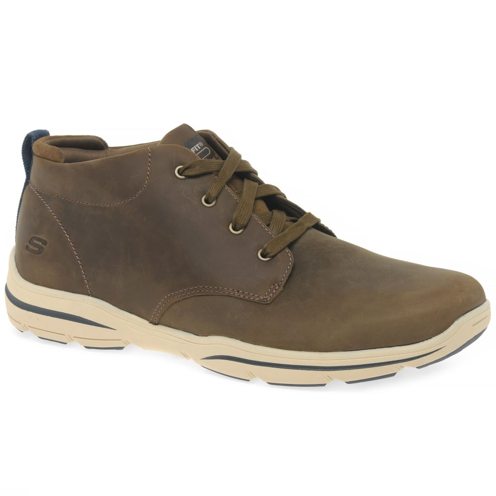 Skechers Harper Melden Mens Casual Lightweight Boots Men From Charles Clinkard Uk