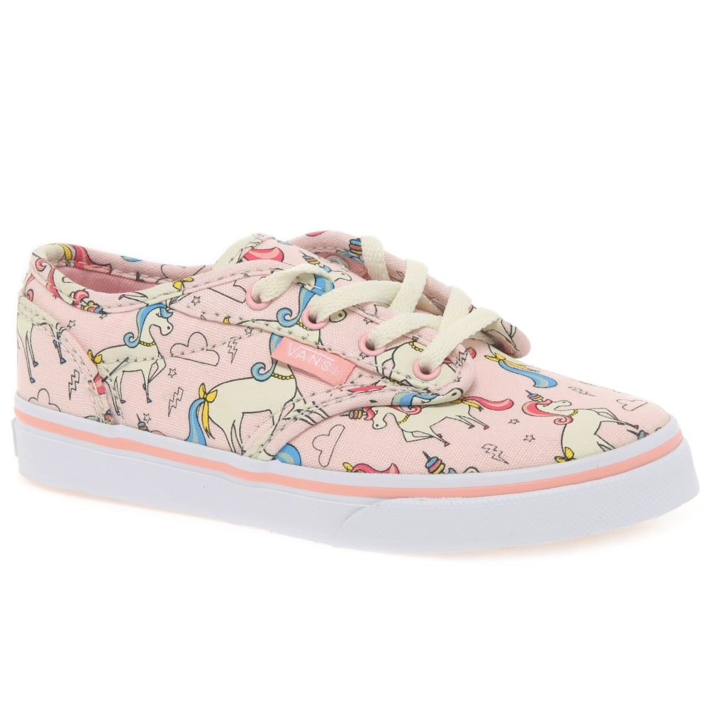 bbea9fee765983 Vans Atwood Lace Girls Youth Canvas Shoes - Girls from Charles ...