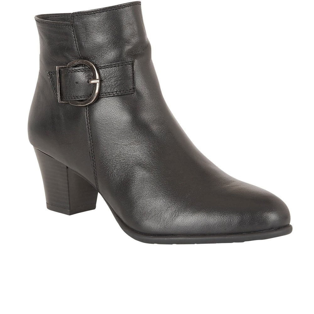 lotus genevieve womens casual ankle boots from