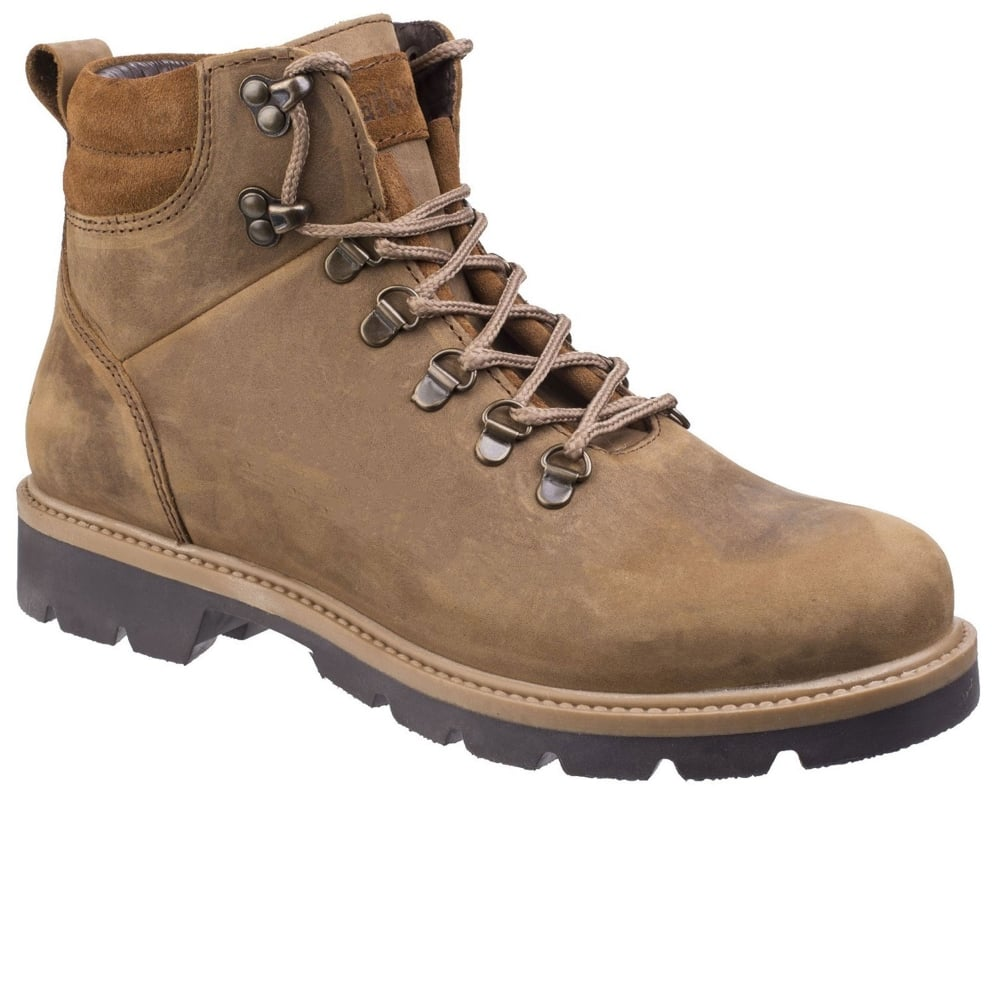Darkwood Maple Mens Casual Ankle Boots