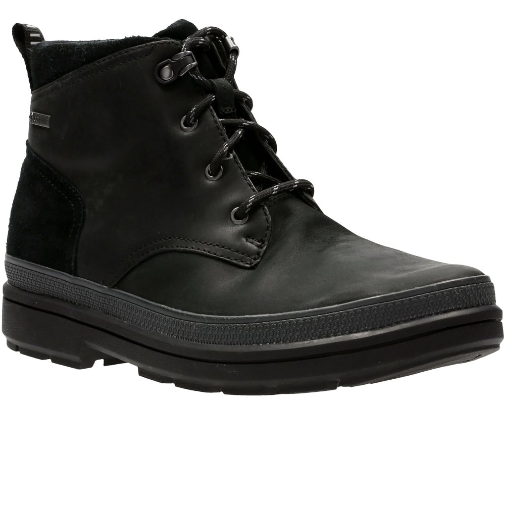 Clarks Mens Rushwaymid GTX Chelsea Boots