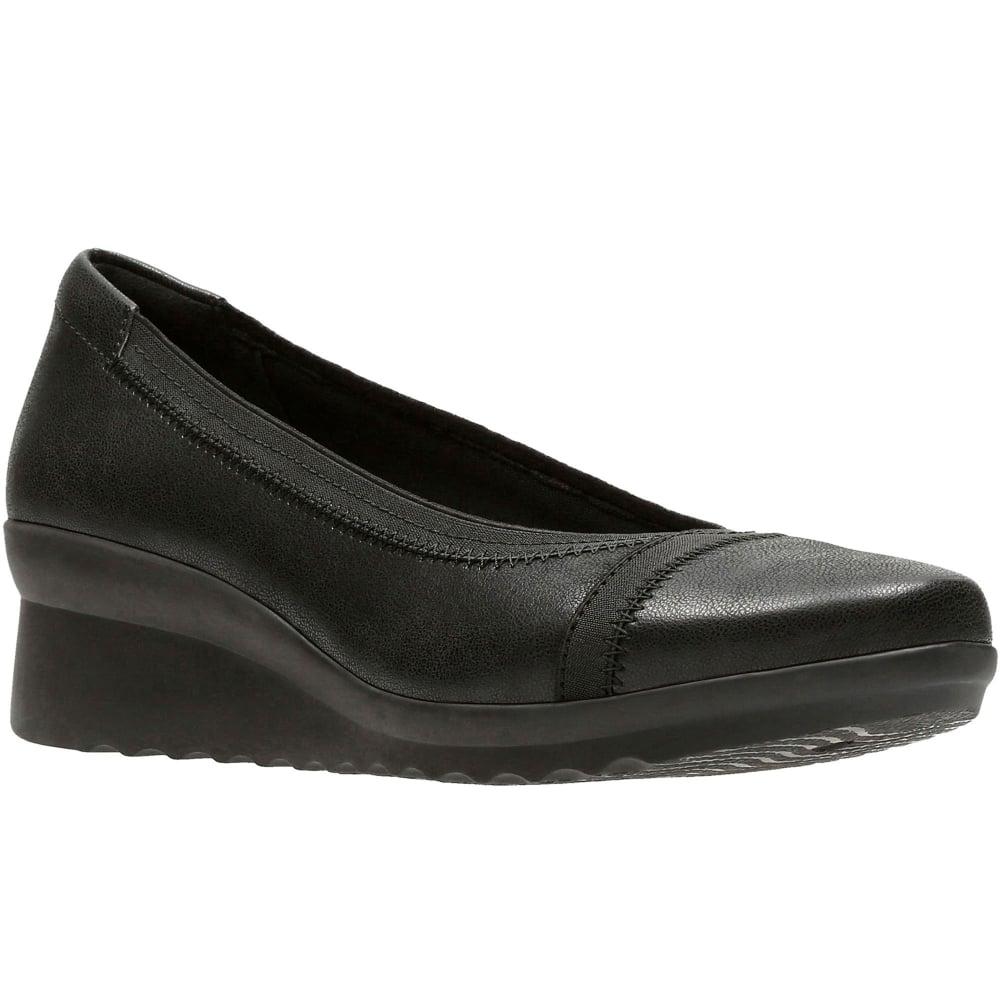 Clarks Caddell Dash Womens Wedge Heels