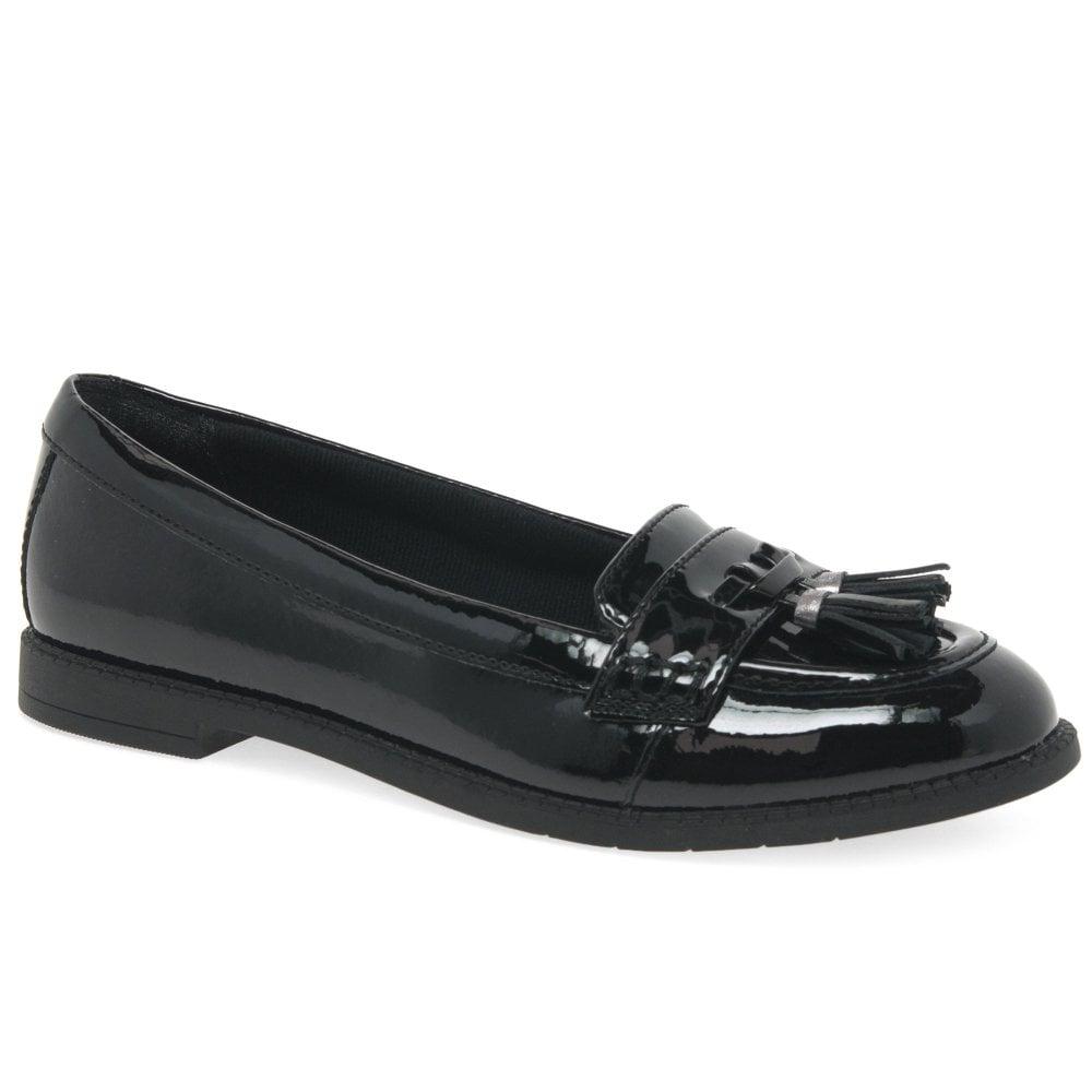 Clarks Preppy Prize Girls Patent Loafer
