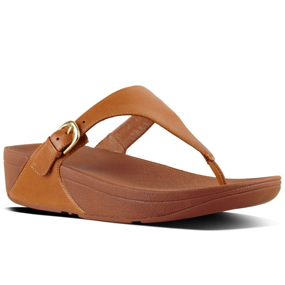 Fitflop Skinny Womens Leather Toe Post